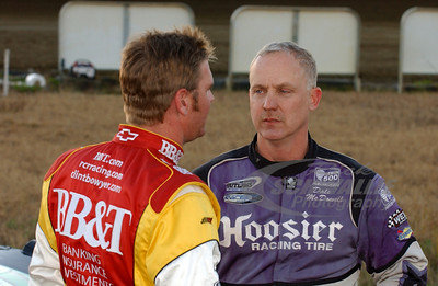Clint Bowyer and Dale McDowell