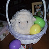 Kaylie's Easter basket