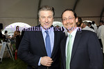 SAGAPONACK-JUNE 20: Alec Baldwin, Bob DeLuca attend EcoFabulous in the East End--Annual Summer Benefit for The Group for the East End on Saturday, June 20, 2009 at Wolffer Estate Vineyard 183 Sagg Road, Sagaponack, New York. (Photo Credit: ManhattanSociety.com by Christopher London)