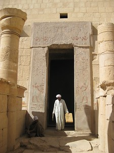 Working at Queen Hatshepsut Temple - Kimberly Collins