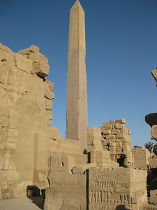 Oblesik at Karnak Temples - Kimberly Collins