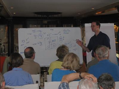 Joshua teaching - Kimberly Collins