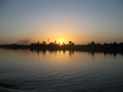 Sunset on the Nile - Kimberly Collins