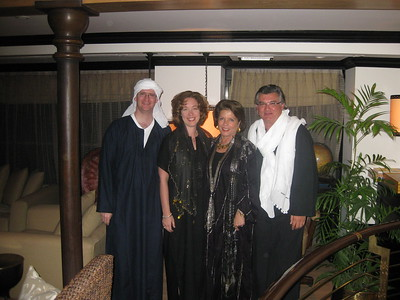 Joshua, Kimberly, Fetiche & Tarek