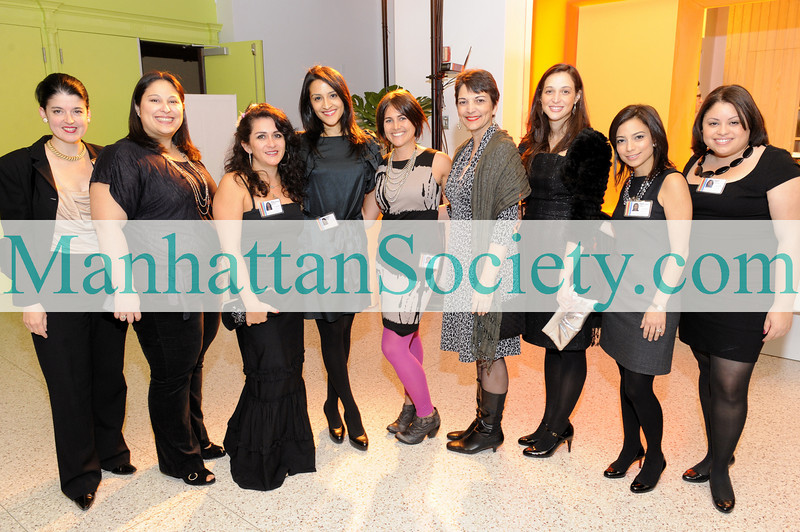 NEW YORK-OCTOBER 15:  Nazira Handal and El Museo Staff members attend El Museo, Sponsors Cocktail Party on Thursday, October 15, 2009 at  EL MUSEO, 1230 Fifth Avenue at 104th Street, New York City, NY (Photo Credit: ©Manhattan Society.com 2009 by Gregory Partanio)