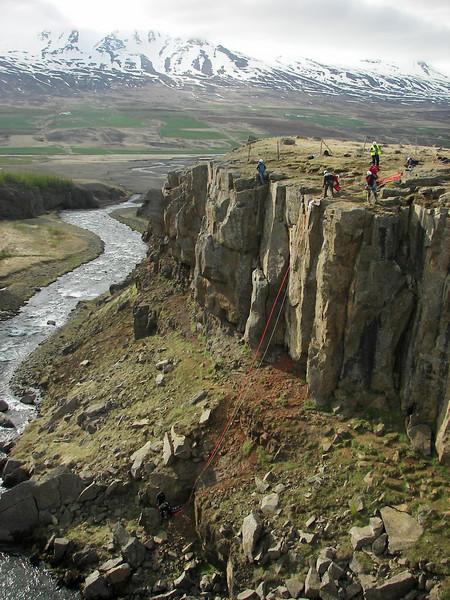Æft í Munkaþverárgili.