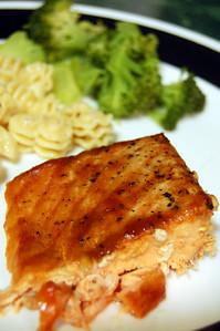 2/21: Salmon, Pasta, and Broccoli