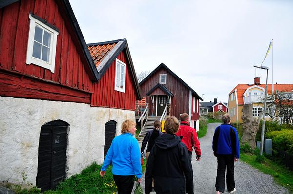 Promenad i byn