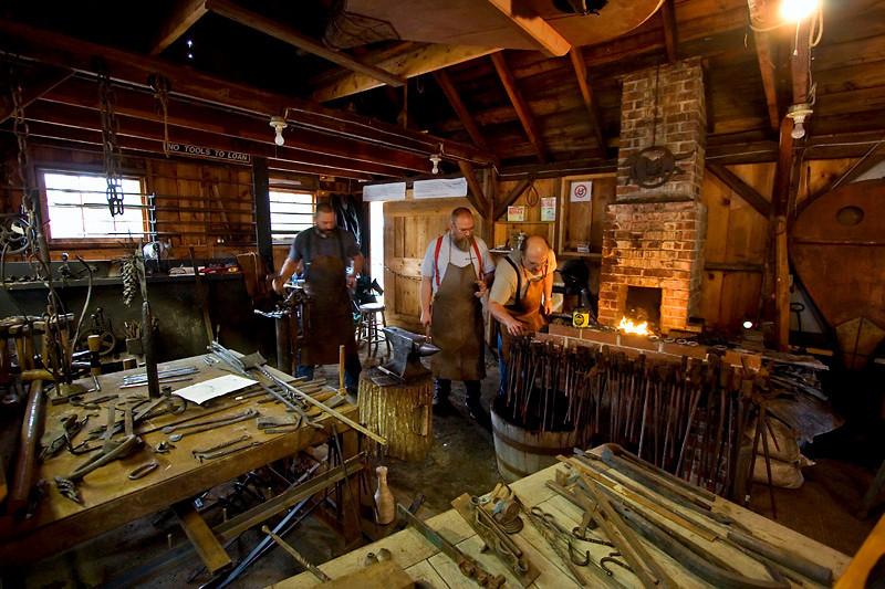 Blacksmiths at Fryeburg Fair