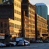 The Strip District in Pittsburgh.