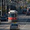 Toronto Transit Commission's CLRVs on Bathurst Street.
