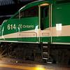 Go Transit's 614 in Toronto's Union Station.