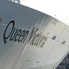 The new Cunarder Queen Victoria in Boston,