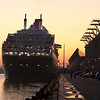 The Queen Mary 2 in Boston.