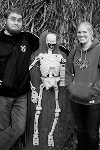 Dan, Rachel, and Bones