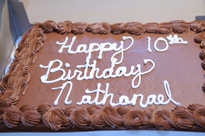 Nate's 10th Birthday