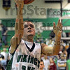 Score: West Vigo's #14, Jordan Pearson scores late in the second half against Sullivan Thursday night at the West Vigo gym.