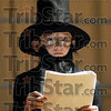 Portrayal: Second grade student Matt Dunigan portrays Abraham Lincoln during Thursday's Lincoln Bicentennial Program at Deming Elementary School.
