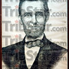 Lincoln exhibit: A portrait of President Abraham Lincoln is on display at the Edgar Co. Historical Society.