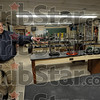 Antiquated: Mick Newport of the Vigo Co. School Corporation shows an antiquated science classroom at the Chauncey Rose Middle School Friday afternoon.