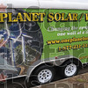 One Planet: Detail photo of trailer used by new business.