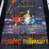"""Now playing: The playbill for Oscar nominated movie """"Slumdog Millionaire"""", now playing at Honey Creek West."""