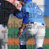 Tribune-Star/Joseph C. Garza<br /> Caught in a trap: Indiana State's Brian Ramirez tries to avoid the tag by St. Louis University's Jerry Mancuso during the Sycamores' game against the Billikens Tuesday at Sycamore Field.