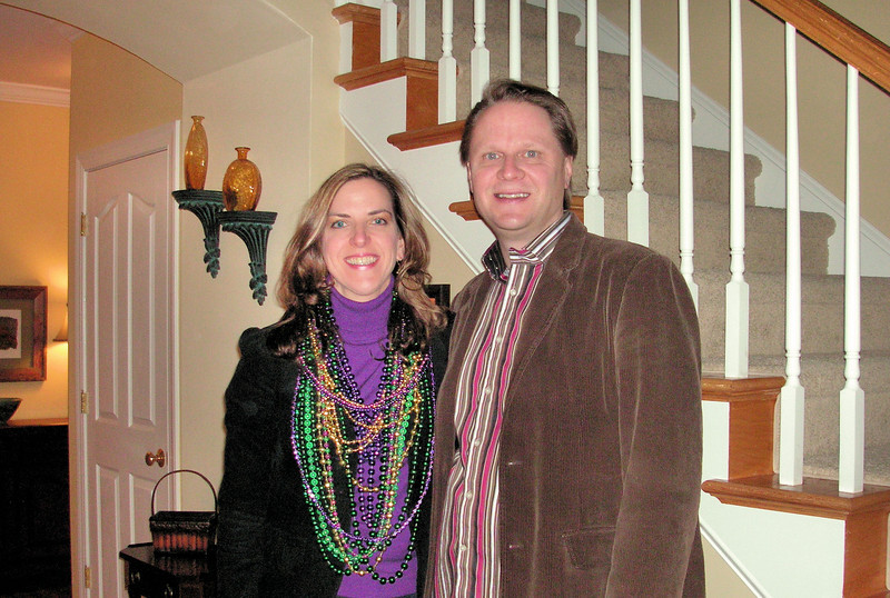 Mardi Gras Party - Scott & Elizabeth