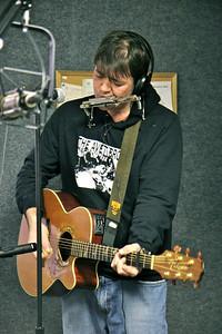 Marc Higgins at WGWG Radio Station.