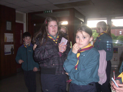 Scouts Fire Safety Course 2009