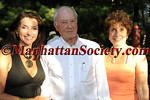 SAG HARBOR-AUGUST 14: Debbie McEneaney, Lief Hope, Juliet Papa attend First Pitch Cocktail Party to Celebrate Artists & Writers 61st Anniversary Softball Game at the Home of Debbie & Kevin McEneaney, Sag Harbor, NY (Photo Credit: ©ManhattanSociety.com by Gregory Partanio)