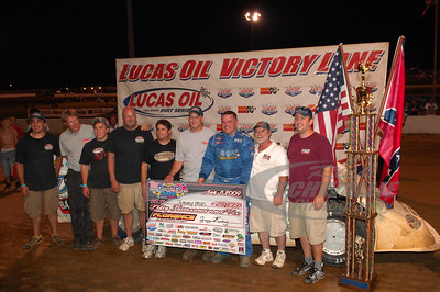Jimmy Mars and crew in Victory Lane @ Florence Speedway