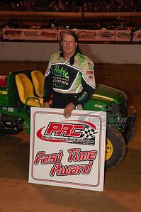 Scott Bloomquist won the PRC Fast Time Award