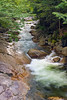 The Flume Gorge at Franconia Notch State Park NH