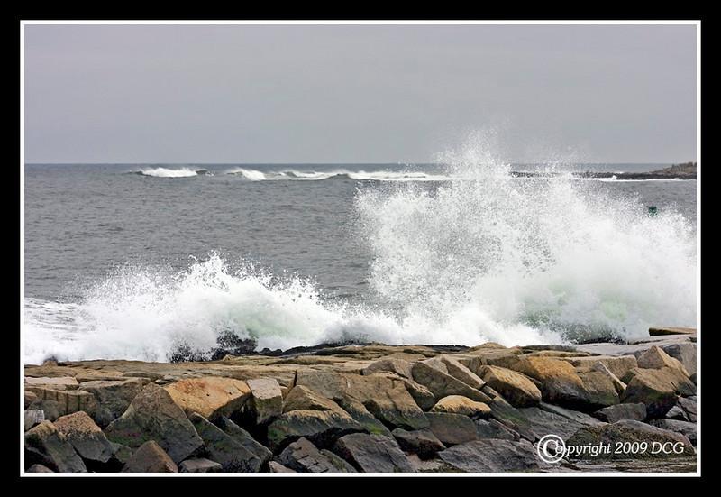 Atlantic Ocean from Fort Stark