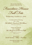 NEW YORK-OCTOBER 21: FOUNTAIN HOUSE 2009 Fall Fete Sponsored by David Yurman & Milly on Wednesday, October 21, 2009 at the Racquet & Tennis Club, 370 Park Avenue at 53rd Street, New York City, NY (Photo Credit: ©Manhattan Society.com 2009 by Gregory Partanio & Stuart Rinzler)