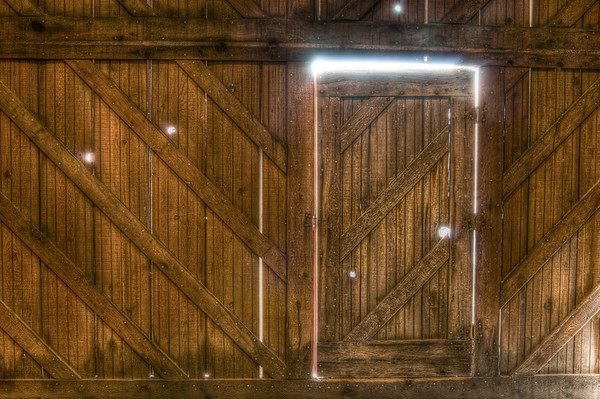 This is the door where they have the tours enter into the winery from. It's got these little holes in it that let in some neat light. They also have a basketball net to the right of here and they make everyone take a shot. If you get it in, you get a Frogs Leap poster!