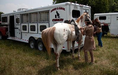 Old calvary saddle