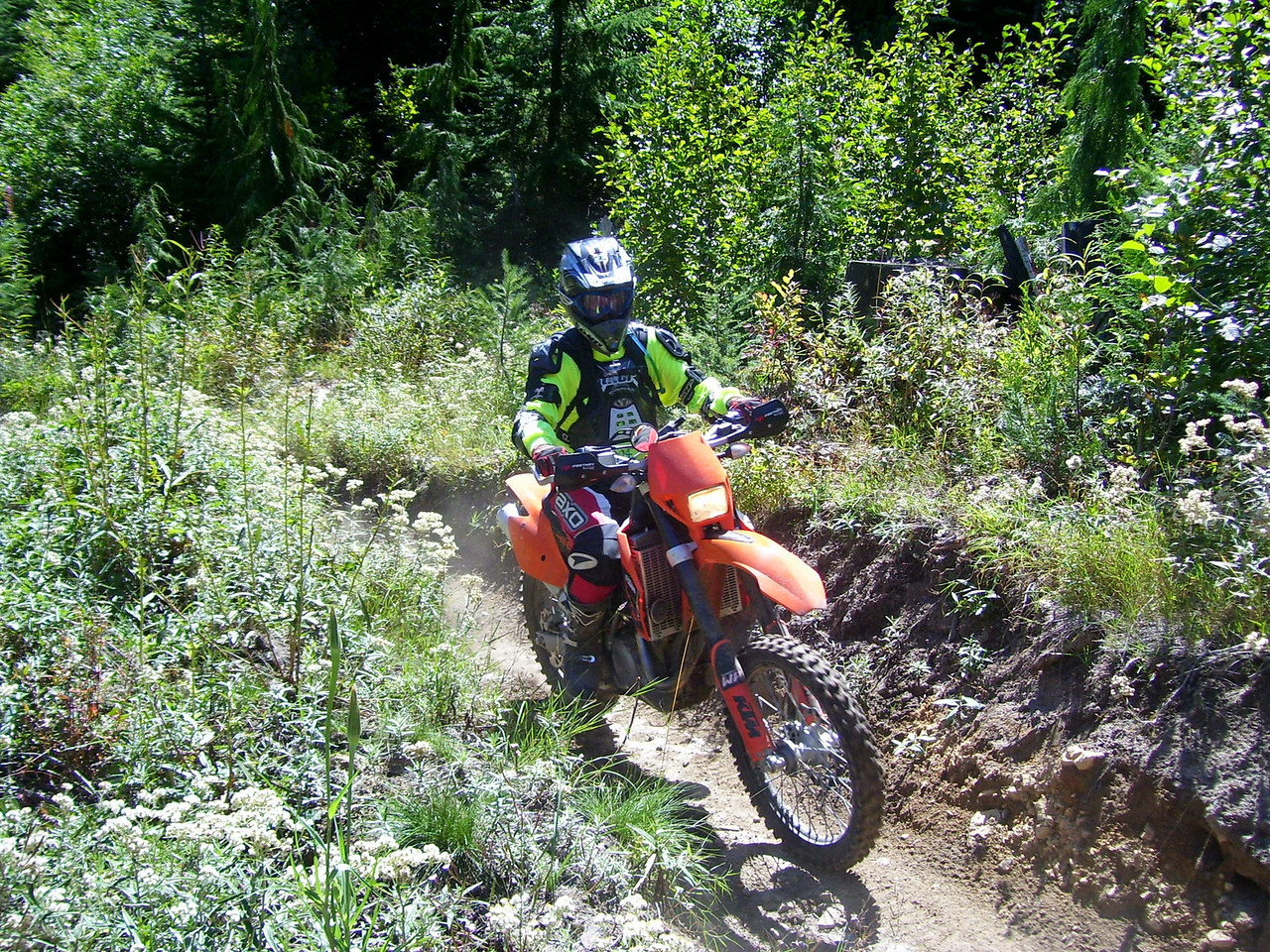 Dave & KTM 450 EXC