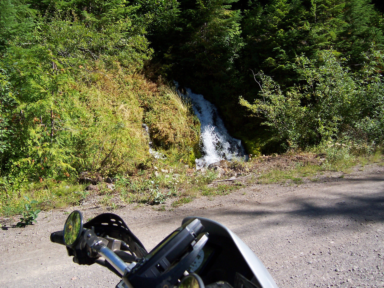 Waterfalls on Thursday afternoon's Adventure Ride