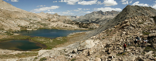 Upper Little Five Lakes Canyon.