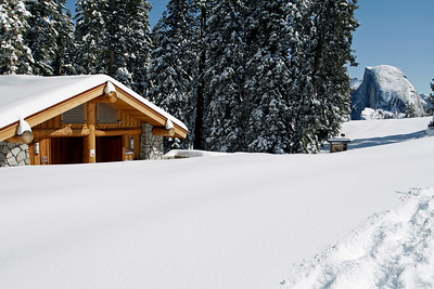 The summer gift shop and winter dorm.