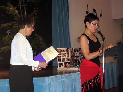 Hope and Jamie (Bernice's daughters) speak