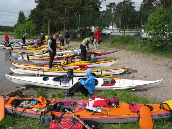 Start vid Stavsnäs