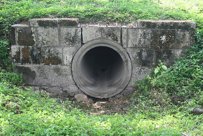 Ancient Mayan water management structure