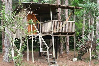 El Mundo Perdido, (The Lost World), our cabin at Finca Ixobel.  So lost, in fact, it got burglarized.