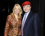 NEW YORK-NOVEMBER 3: Betsy McCaughey, Curtis Sliwa attend THE GUARDIAN ANGELS Season of Appreciation Cocktail Party at the Mandarin Oriental Hotel, 80 Columbus Circle at 60th Street, 36th Floor-Lotus Suite, New York City, NY (Photo Credit: ©Manhattan Society.com 2009 by Gregory Partanio)