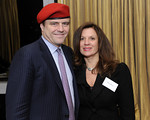 NEW YORK-NOVEMBER 3: Curtis Sliwa, Mary Sliwa attend THE GUARDIAN ANGELS Season of Appreciation Cocktail Party at the Mandarin Oriental Hotel, 80 Columbus Circle at 60th Street, 36th Floor-Lotus Suite, New York City, NY (Photo Credit: ©Manhattan Society.com 2009 by Gregory Partanio)