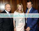 NEW YORK-JULY 15: NYC Police Commissioner, Ray Kelly, Jennifer Stockman, Greg Kelly attend Guggenheim, Four Seasons 50th Anniversary Celebration on Wednesday, July 15, 2009 at  the Four Seasons Restaurant, 99 East 52nd Street, New York City, NY  (Photo Credit: ManhattanSociety.com by Gregory Partanio)