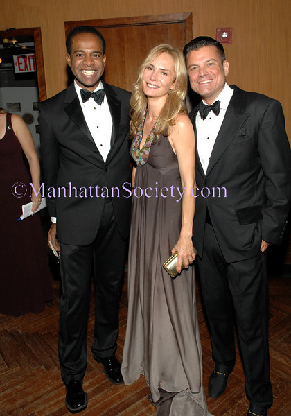 NEW YORK-MAY19: Frederick Anderson, Valesca Guerrand-Hermès, Designer Douglas Hannant attend  HALE HOUSE 40th Anniversary Celebration on Tuesday, May 19, 2009 at The Prince George Ballroom, 15 East 27th Street, between Fifth and Madison Avenue, New York City, NY (Photo Credit: ©ManhattanSociety.com by Christopher London)